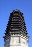 Pagoda del ?? della costruzione del punto scenico Immagini Stock Libere da Diritti