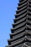 Pagoda del ?? della costruzione del punto scenico Fotografie Stock Libere da Diritti