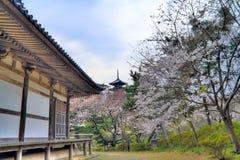 Pagoda del giardino di Sankeien Fotografia Stock Libera da Diritti