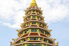 Pagoda del kang di pla di Wat Hyua Fotografie Stock