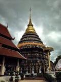 Pagoda del louang del lampang del tad di Pra, Tailandia fotografia stock