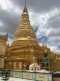 Pagoda del Myanmar (Birmania) Immagine Stock Libera da Diritti