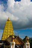 Pagoda del oro Fotos de archivo libres de regalías
