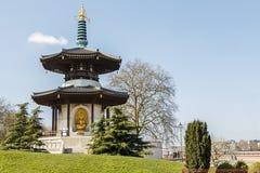 Pagoda del parco di Battersea Immagine Stock