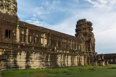 Pagoda del tempio di Angkor Wat Fotografia Stock