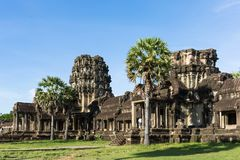 Pagoda del tempio di Angkor Wat Immagine Stock Libera da Diritti