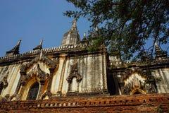 Pagoda del tempio di Thatbinnyu in Bagan Myanmbar Burma immagine stock libera da diritti