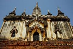 Pagoda del tempio di Thatbinnyu in Bagan Myanmbar Burma fotografia stock libera da diritti