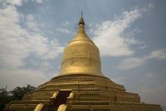 PAGODA DELL'ASIA MYANMAR BAGAN LAWKANANDA fotografia stock