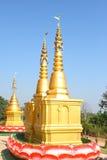 Pagoda dell'oro Fotografia Stock