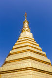 Pagoda dell'oro Fotografia Stock Libera da Diritti