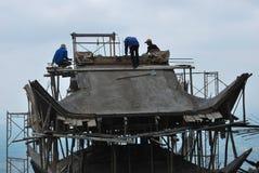Pagoda della costruzione Fotografie Stock
