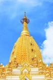 Pagoda della reliquia del dente di Buddha, Rangoon, Myanmar Fotografie Stock Libere da Diritti