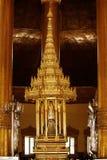 Pagoda della reliquia del dente, Rangoon Questa pagoda recentemente è perseguitata a seconda guerra mondiale fotografia stock libera da diritti