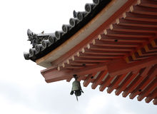 Pagoda Detail, Kiyomizudera Temple Stock Images