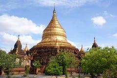 Pagoda Dhamma Yazika en Bagan fotografía de archivo libre de regalías