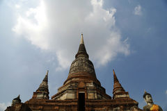 Pagoda di Ayutthaya #5 Fotografia Stock
