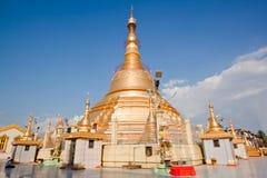 Pagoda di Botataung, Yangon, Myanma Fotografia Stock