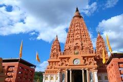 Pagoda di Buddhakaya fotografie stock libere da diritti