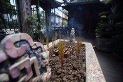 Pagoda di Chua Min Huong nella città di Ho Chi Minh Fotografie Stock