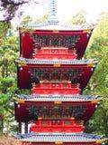 Pagoda di Cinque-storia di Gojunoto Immagini Stock Libere da Diritti