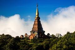 Pagoda di Doi Inthanon Fotografia Stock Libera da Diritti