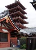 Pagoda di Japaneese fotografia stock