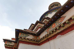 Pagoda di Kumbum in Gyantse Immagini Stock