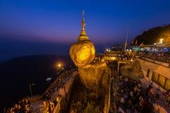 Pagoda di Kyaikhtiyo Fotografia Stock Libera da Diritti