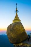 Pagoda di Kyaikhtiyo Immagini Stock Libere da Diritti