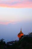 Pagoda di Kyaiktiyo o di Kyaikhtiyo Fotografia Stock Libera da Diritti