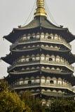 Pagoda di Leifeng Fotografie Stock