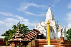 Pagoda di Lemyethna in Bagan, Myanmar Fotografia Stock