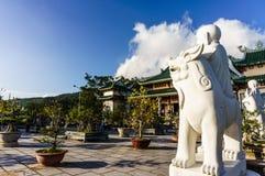 Pagoda di Linh Ung Fotografie Stock