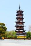 Pagoda di Longhua Fotografia Stock Libera da Diritti