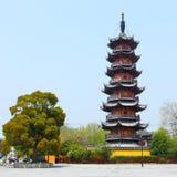 Pagoda di Longhua Fotografie Stock