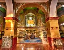 Pagoda di Mandalay Sutaungpye immagine stock libera da diritti