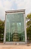 Pagoda di marmo (1467) del tempio di Wongaksa Seoul, Corea Fotografia Stock Libera da Diritti