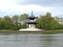 Pagoda di pace, Londra Immagine Stock Libera da Diritti