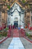 Pagoda di Pahtodawgyi, Mingun, non lontano da Mandalay, Myanmar fotografia stock
