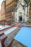 Pagoda di Pahtodawgyi, Mingun, non lontano da Mandalay, Myanmar immagini stock