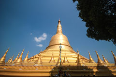Pagoda di Schwemawdaw immagini stock