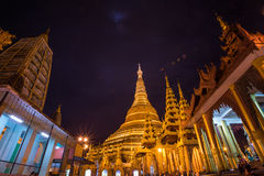 Pagoda di Shwedagon Fotografia Stock Libera da Diritti