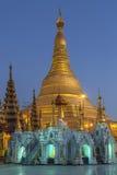 Pagoda di Shwedagon - Rangoon - Myanmar Fotografia Stock Libera da Diritti