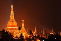 Pagoda di Shwedagon, Yangon, Myanmar Immagine Stock Libera da Diritti
