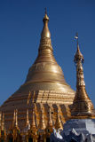 Pagoda di Shwedagon, Yangon, Myanmar Fotografie Stock Libere da Diritti