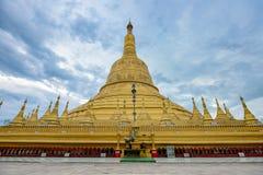 Pagoda di Shwemawdaw della pagoda di Shwemawdaw il più alta pagoda in mya Immagini Stock Libere da Diritti