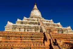 Pagoda di Shwesandaw Fotografia Stock Libera da Diritti