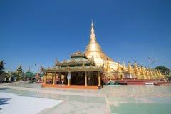 Pagoda di Shwesandaw in Twante, Myanmar Fotografia Stock