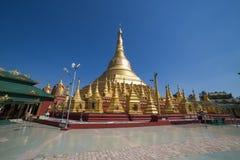 Pagoda di Shwesandaw in Twante, Myanmar Immagini Stock